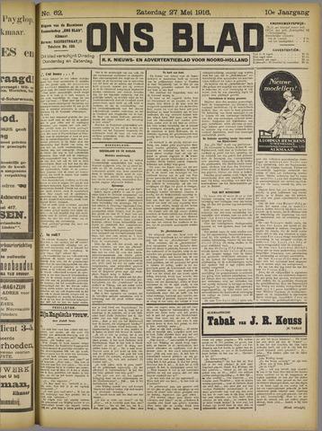 Ons Blad : katholiek nieuwsblad voor N-H 1916-05-27