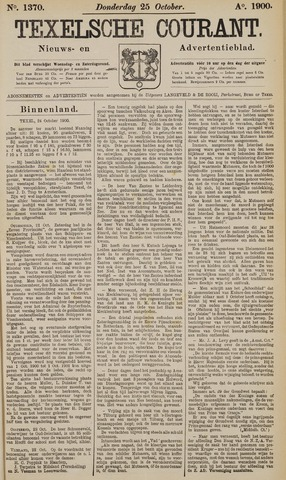 Texelsche Courant 1900-10-25
