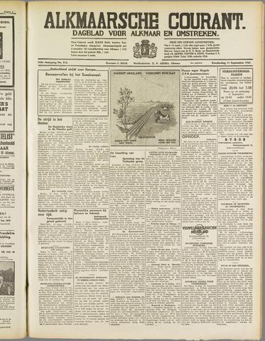Alkmaarsche Courant 1941-09-11
