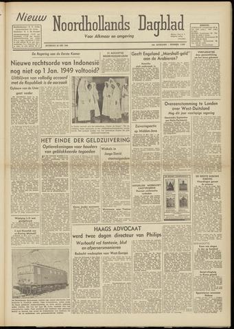 Nieuw Noordhollandsch Dagblad : voor Alkmaar en omgeving 1948-05-22