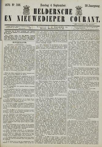 Heldersche en Nieuwedieper Courant 1870-09-04
