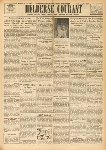Heldersche Courant 1949-04-20