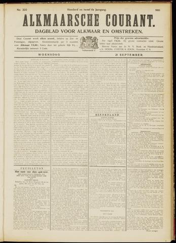 Alkmaarsche Courant 1910-09-21