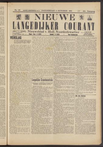 Nieuwe Langedijker Courant 1931-10-08