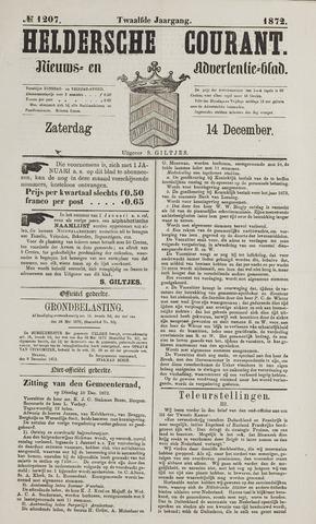 Heldersche Courant 1872-12-14