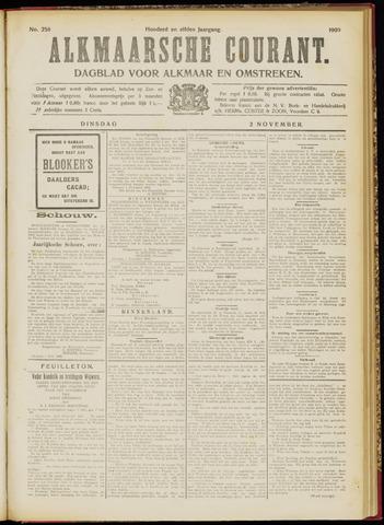 Alkmaarsche Courant 1909-11-02