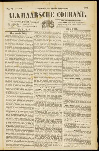 Alkmaarsche Courant 1902-06-22