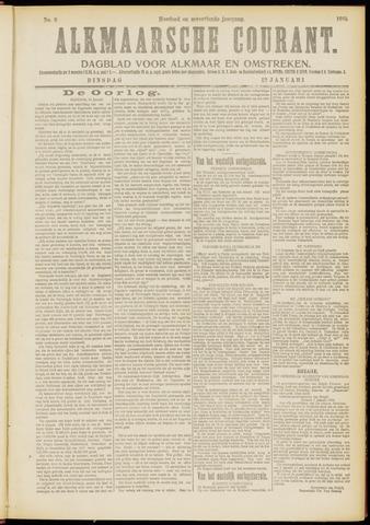Alkmaarsche Courant 1915-01-12