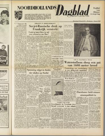 Noordhollands Dagblad : dagblad voor Alkmaar en omgeving 1954-02-18