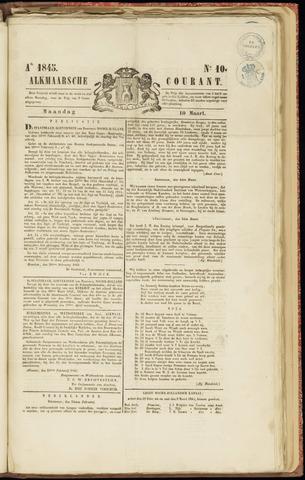 Alkmaarsche Courant 1845-03-10