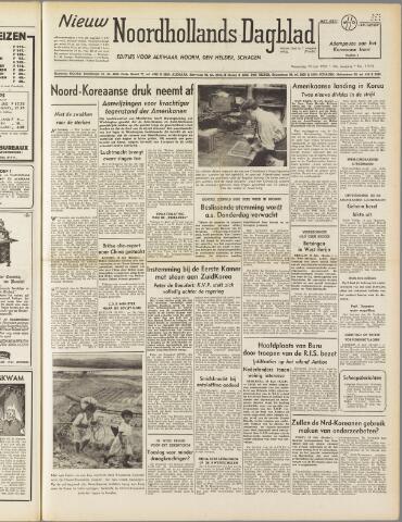 Nieuw Noordhollandsch Dagblad : voor Alkmaar en omgeving 1950-07-19