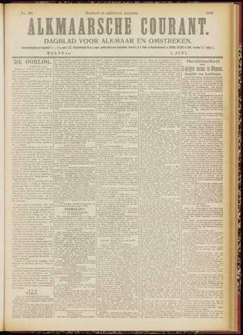 Alkmaarsche Courant 1916-06-05