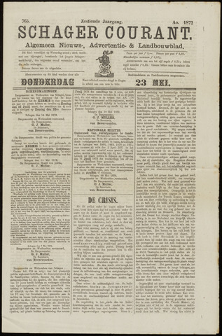 Schager Courant 1872