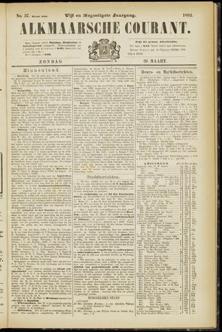 Alkmaarsche Courant 1893-03-26