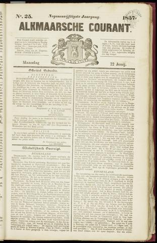 Alkmaarsche Courant 1857-06-22