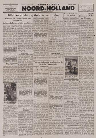 Dagblad Noord-Holland, Schager editie 1943-09-11