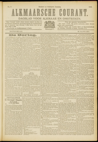 Alkmaarsche Courant 1918-01-10