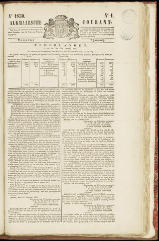 Alkmaarsche Courant 1850-01-07