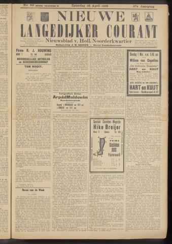 Nieuwe Langedijker Courant 1928-04-28