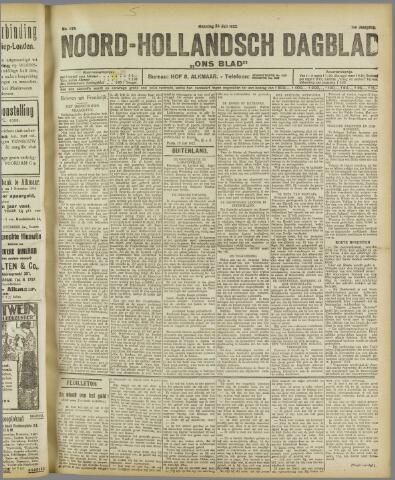 Ons Blad : katholiek nieuwsblad voor N-H 1922-07-24