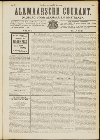 Alkmaarsche Courant 1910-01-21