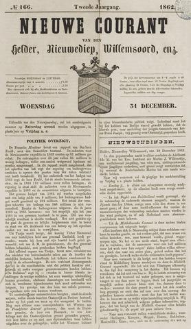 Nieuwe Courant van Den Helder 1862-12-31