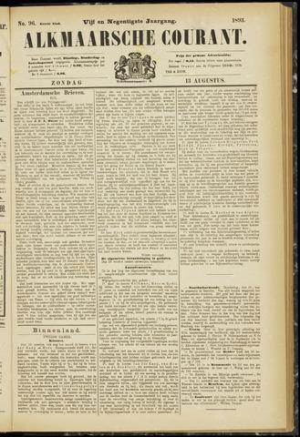 Alkmaarsche Courant 1893-08-13