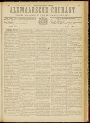 Alkmaarsche Courant 1918-11-26