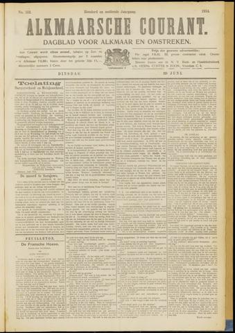 Alkmaarsche Courant 1914-06-30