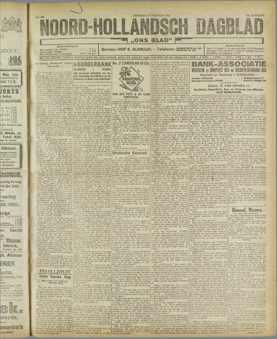 Ons Blad : katholiek nieuwsblad voor N-H 1921-08-13