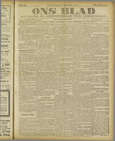 Ons Blad : katholiek nieuwsblad voor N-H 1919-01-30