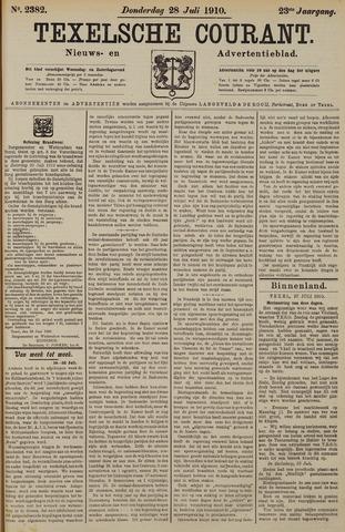 Texelsche Courant 1910-07-28