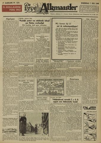 De Vrije Alkmaarder 1948-07-07