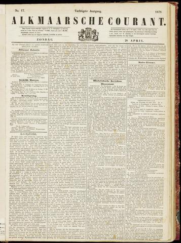 Alkmaarsche Courant 1878-04-28