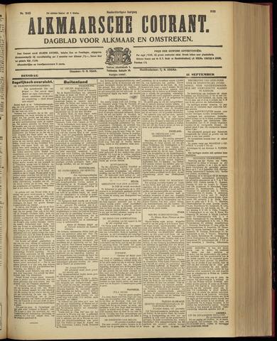 Alkmaarsche Courant 1928-09-11