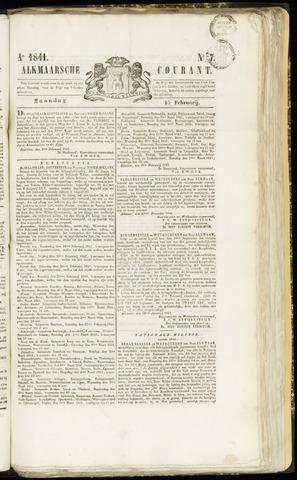 Alkmaarsche Courant 1841-02-15