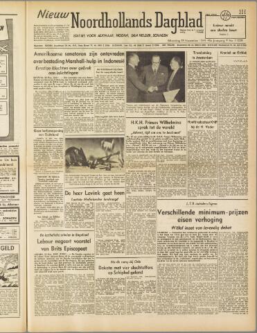 Nieuw Noordhollandsch Dagblad : voor Alkmaar en omgeving 1949-11-28