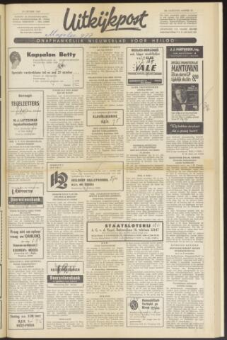 Uitkijkpost : nieuwsblad voor Heiloo e.o. 1969-10-29
