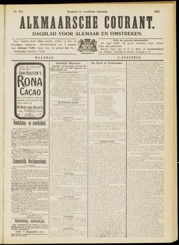 Alkmaarsche Courant 1912-08-05