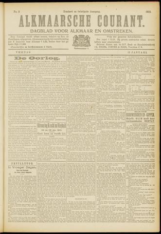 Alkmaarsche Courant 1918-01-11