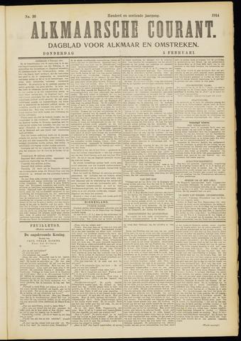 Alkmaarsche Courant 1914-02-05