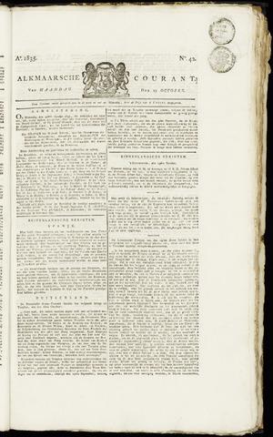 Alkmaarsche Courant 1835-10-19