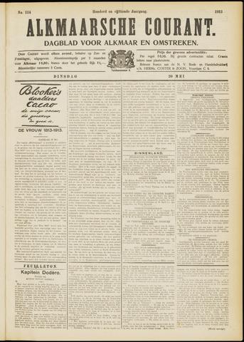 Alkmaarsche Courant 1913-05-20