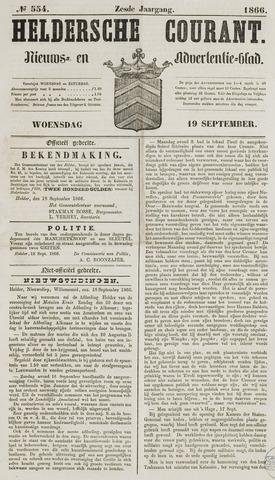 Heldersche Courant 1866-09-19