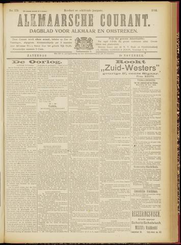Alkmaarsche Courant 1916-11-18