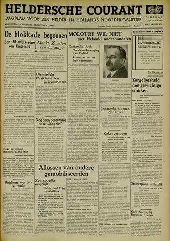 Heldersche Courant 1939-12-05