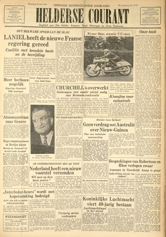 Heldersche Courant 1953-06-29