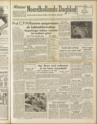 Nieuw Noordhollandsch Dagblad : voor Alkmaar en omgeving 1951-03-14