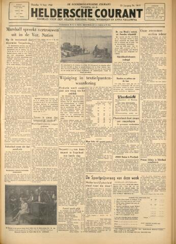 Heldersche Courant 1947-09-15