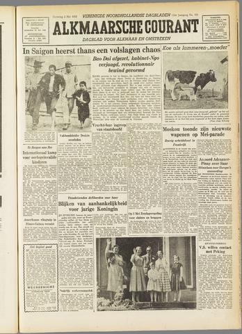 Alkmaarsche Courant 1955-05-02